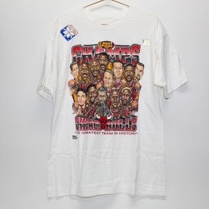 NWT Vintage 1996 Chicago Bulls Champs Shirt